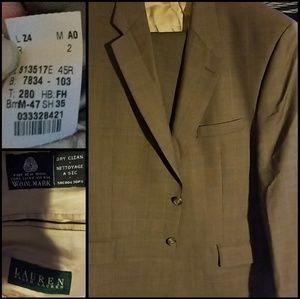 Mens suit jacket and slacks